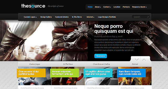 Plantilla de TheSource