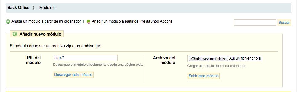 Presta es_ES22