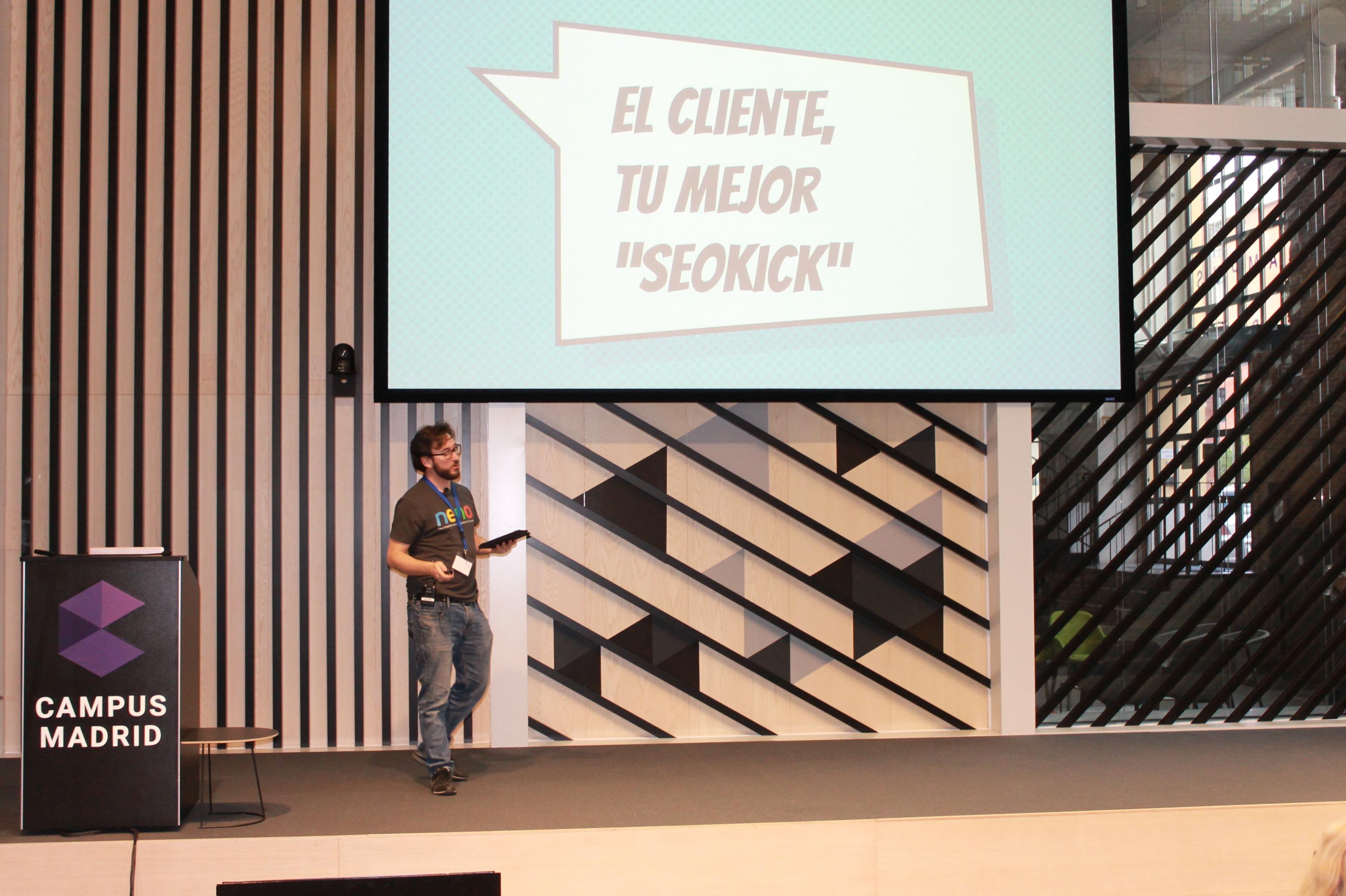 Andrés Maseo en el Joomla Day Madrid 2017