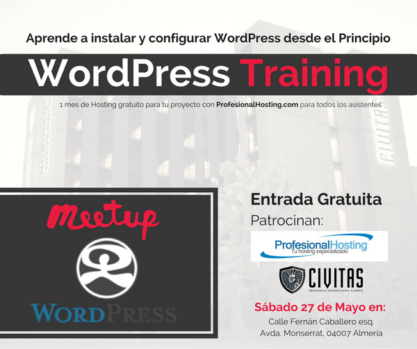 Meetup Aniversario WordPress