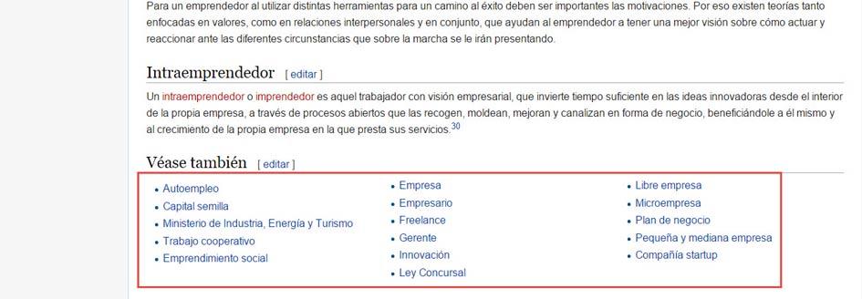 resultados-en-wikipedia-emprender-relacionados