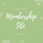 Como montar un mebership site