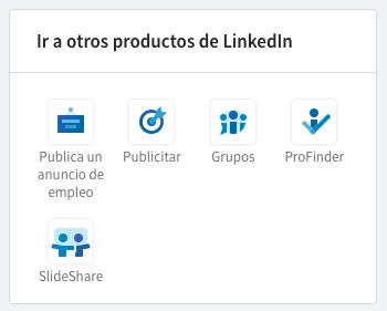 Imagen productos LinkedIn