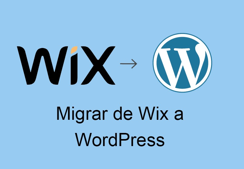 migrar de wix a wordpress