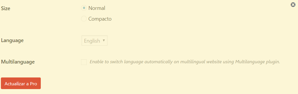 idioma version pro recaptcha