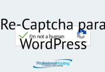 re-captcha para wordpress