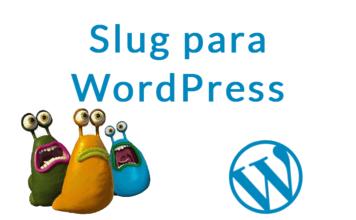 slug para wordpress