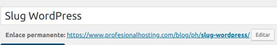 slug wordpress ejemplos