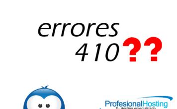 errores 410