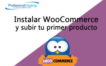 instalar woocomerce y subir tu primer producto
