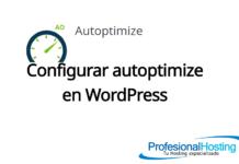 configurar autoptimize wordpress