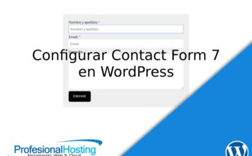 configurar contact form 7