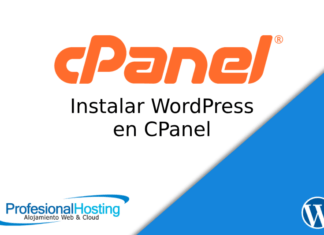 instalar wordpress cpanel