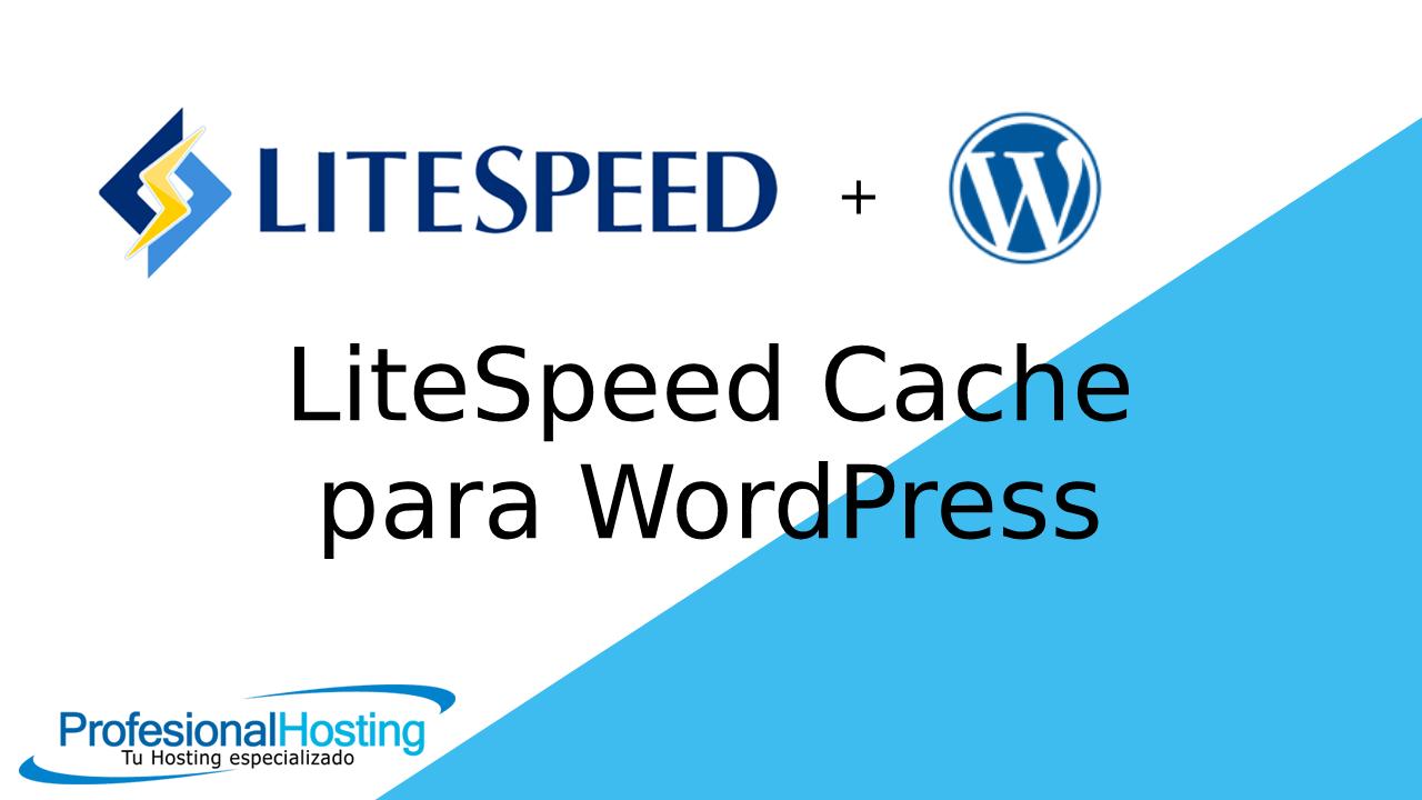litespeed cache wordpress