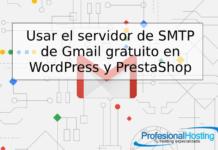 usar smtp con gmail gratis